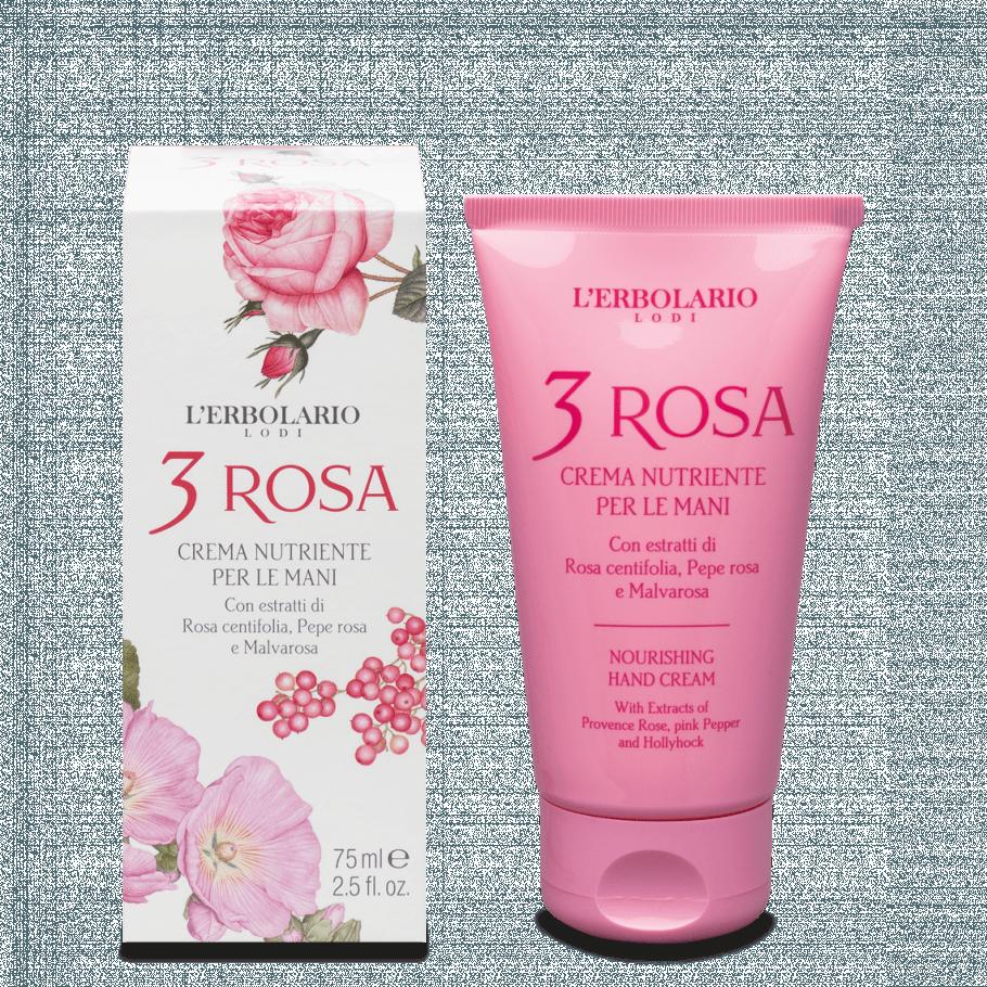 nuovo concetto a piedi scatti di preordinare Vendita Online 3 Rosa Crema Nutriente per le Mani 75 ml de L'Erbolario