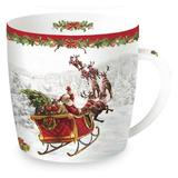 CHRISTMAS SNOW: Tazza in Porcellana Dec1 350 ml